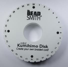 Dikke Kumihimo schijf 20 mm dik, 4,25 inch doorsnede