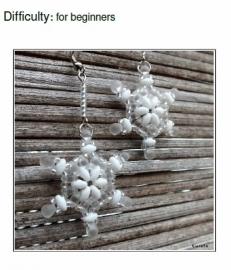 Gratis patroon: Snowflakes