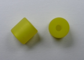 8 mm Polaris cilinder kraal, geel