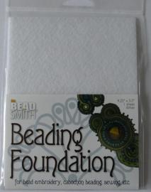 Beadsmith Beading Foundation,  4,5x5 inch, wit
