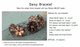 Gratis patroon: Daisy Bracelet