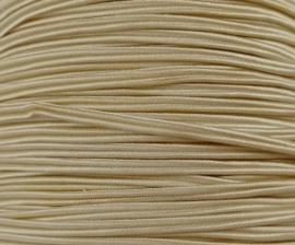 Soutache koord, Ivory, per meter