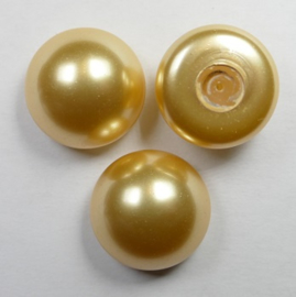 Parel Cabochons, 16 mm, Swarovski, Gold