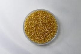 Miyuki Rocailles , 15/0, Gold Silver Lined,  kleurnummer 3