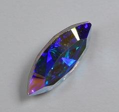 Navette, 15x7 mm, Swarovski, Crystal AB