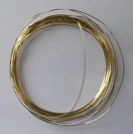 Gold Filled draad, 'dead soft' voor tandwiel 3/4 inch