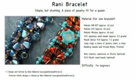Gratis patroon: Rani Bracelet