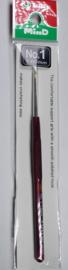 Tulip haaknaald met comfortgrip, maat 1, 1,60 mm