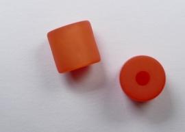 8 mm Polaris cilinder kraal, oranje