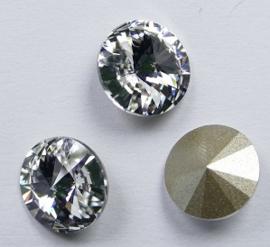 Rivoli, SS47, ongeveer 10,5 mm, Crystal