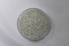 Miyuki Rocailles , 15/0, Crystal Silver Lined,  kleurnummer 1
