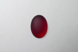 Lunasoft Cabochon Ovaal 25x18, Garnet