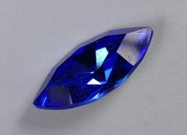 Navette, 15x7 mm, Swarovski, Sapphire