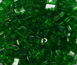 Miyuki Half Tila Beads, 5x2,3 mm , Green, kleurnummer 146