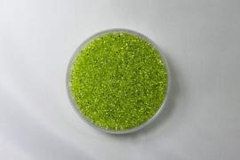 Miyuki Rocailles , 15/0, Chartreuse  Silver Lined,  kleurnummer 14