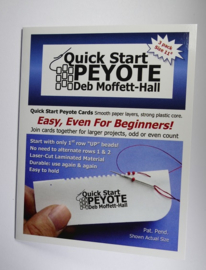 Deb Moffet-Hall: Quick Start Peyote kaart