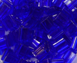 Miyuki Tila Beads, 5x5 mm , Cobalt, kleurnummer 151