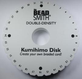 Dikke Kumihimo schijf, 20 mm dik, 6 inch doorsnede