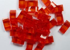 Trägerperlen, Rood, 30 stuks