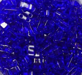 Miyuki Half Tila Beads, 5x2,3 mm , Cobalt, kleurnummer 151