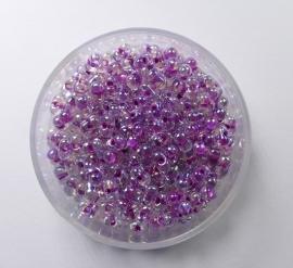Miyuki Berry Bead, Raspberry Lined Crystal AB, kleurnummer 264