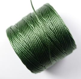 S-Lon TEX 210 Superlon Bead Cord, Fern