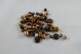 Mix Parelcoated DarkTopaz