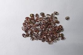 Superduo's, 2,5x5 mm, Matubo, Apollo Gold
