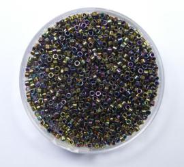 Miyuki Delica's, 11/0,  Metallic Light Bronze Iris, kleurnummer 23