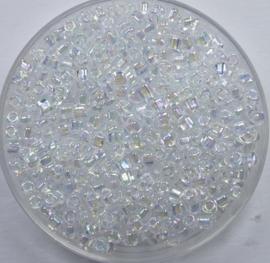 Miyuki Triangle, 10/0, Crystal AB, kleurnummer 1151
