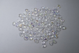 Superduo's, 2,5x5 mm, Matubo, Crystal AB