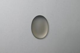 Lunasoft Cabochon Ovaal 25x18, Grey
