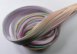 Shibori zijde per 1/4 yard: Lavender Whisper