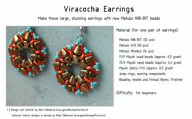 Gratis patroon: Viracocha Earrings