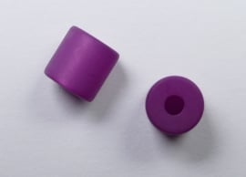 8 mm Polaris cilinder kraal, lila