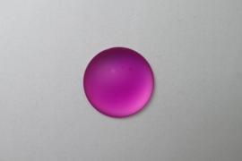 Lunasoft Cabochon Rond 24 mm, Raspberry