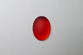 Lunasoft Cabochon Ovaal 25x18, Cherry