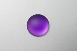 Lunasoft Cabochon Rond 24 mm, Grape