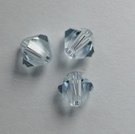 5 mm Light Azore Swarovski Element Bicones op=op