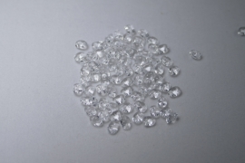 Superduo's, 2,5x5 mm, Matubo, Crystal