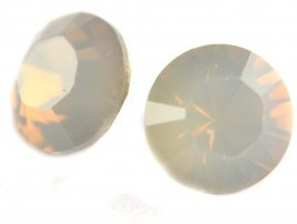 Chaton SS39, Light Grey Opal