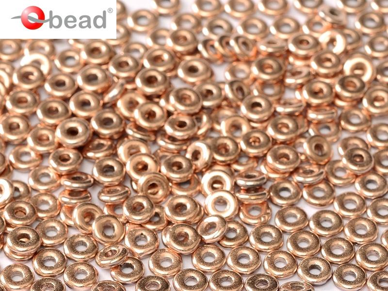 O beads, Crystal Capri Gold Full