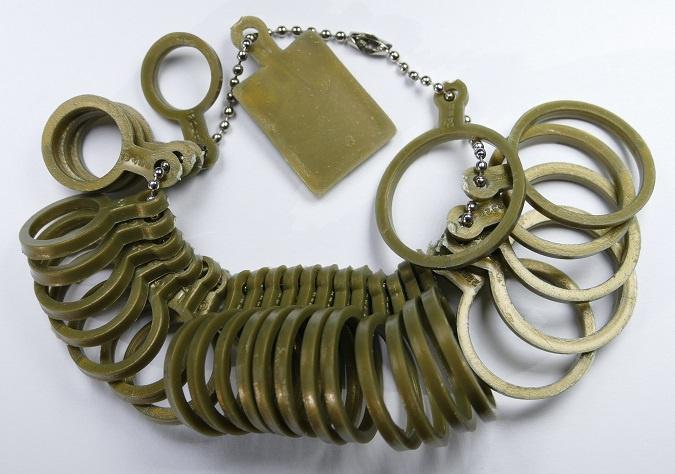 Kunststof ringen voor maatvoering