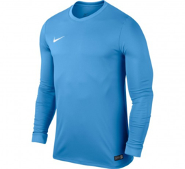 Blauw Nike keepersshirt junior