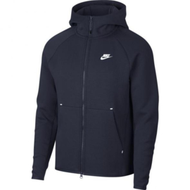Nike Tech fleece hoody blauw