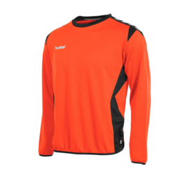 Oranje trui sweater Hummel Paris