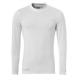 Wit ondershirt / thermoshirt junior en senior Uhlsport