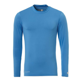Blauw ondershirt / thermoshirt junior en senior Uhlsport