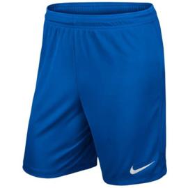 Blauwe Nike Park short