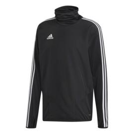 Zwarte Adidas TIRO 19 trui met hoge boord